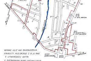mapa getta